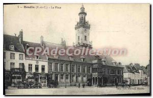 Postcard Hesdin Old Place