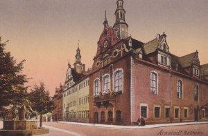 ARNSTADT, Thuringia, Germany, PU-1910; Rathaus
