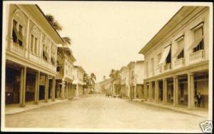 ecuador, GUAYAQUIL, Street Scene (1910s) RPPC