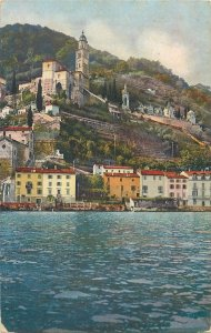 Postcard Switzerland Lugano Lake