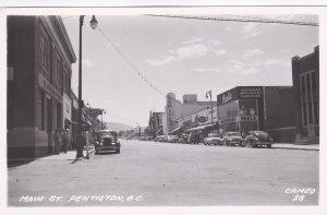 RP; Main Street , PENTICTON , B.C. Canada , 1930s-40s #3