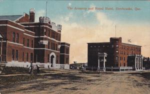 The Armoury & Royal Hotel , SHERBROOKE , Quebec , Canada , PU-1914