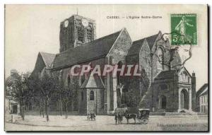 Cassel Old Postcard Notre Dame Church