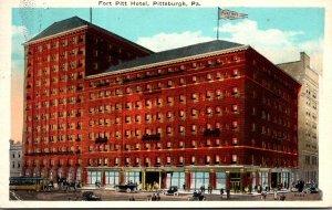 Pennsylvania Pittsburgh Fort Pitt Hotel 1927