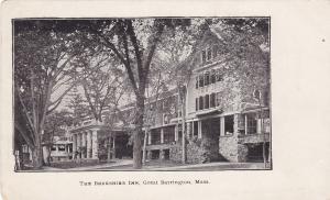 GREAT BARRINGTON , Massachusetts , pre-1907 ; The Berkshire Inn # 2