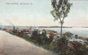 BURLINGTON, Vermont, 1900-10s; Boat Landing