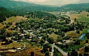 California Julian Aerial View