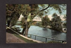 ME Mill River Pond THOMASTON MAINE Postcard Post Card