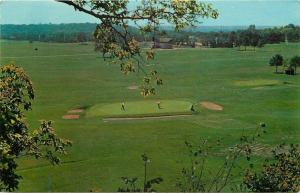 Dayton Ohio~Hill & Dale Country Club~Golf Course Driving Range~1966 Postcard