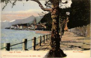 CPA Lago di como riva di Bellagio ITALY (802294)