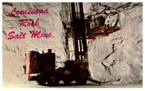 Louisiana Jefferson Island  Rock Salt Mining