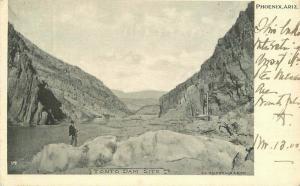 1905 Tonto Dam Site Phoenix Arizona Postcard undivided 4230