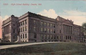 Nebraska Omaha High School Building 1914