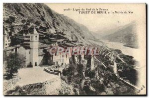 Old Postcard Touet Beuil and the valley of the Var