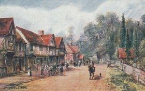 CHIDDINGSTONE, Kent , England, 1910s; AS F.W. Burton