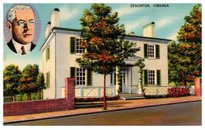 Virginia  Staunton , Woodrow Wilson Birthplace