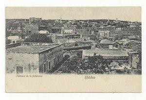 RHODES, Greece, 1900-10s; Interieur de la forteresse