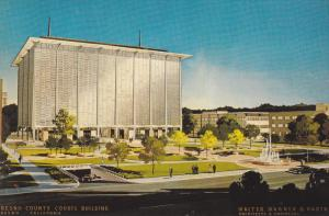 Fresno County Courthouse, World Capital of Agribusiness, Fresno, California, ...