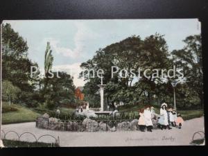 c1910 - DERBY Arboretum Fountain
