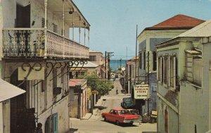 Virgin Islands St Thomas Charlotte Amalie Street Scene 1967 sk5811