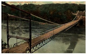 New York Niagra Falls Lewiston Bridge , Trolley