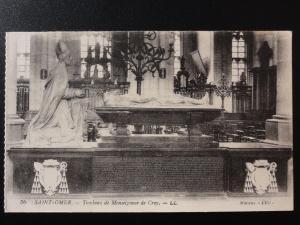 France LL.36 SAINT-OMER Tombeau de Monseigneur de Croy - by Levy, Paris