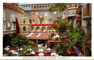 California Riverside Mission Inn Spanish Patio
