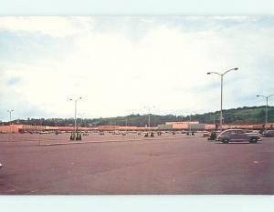 Unused Pre-1980 OLD CARS AT JC PENNEY SHOPPING MALL Conway & Baden PA v2892@