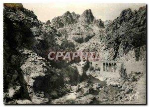 Postcard Modern Scala di Santa Regina Corsica