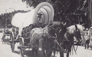 LINCOLN , Nebraska , 40-60s ; Conestoga Wagon