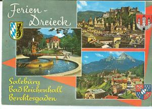 Austria, Salzburg, Bad Reichenhall, Berchtesgaden, 1981 used Postcard