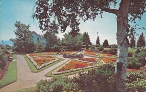 The Beautiful Sunken Gardens at Hillcrest Park,  Port Arthur,  Ontario,   C...