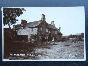 Derbyshire Bakewell ROWSLEY The Manor House (1) c1912 RP Postcard by R. Sneath