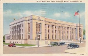 United States Post Office and Court House, Fort Wayne, Indiana, PU-1944
