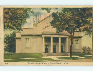 Divided-Back CHURCH SCENE Grand Rapids Michigan MI A9854