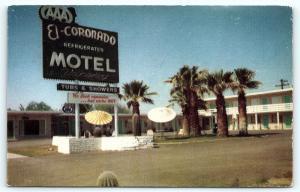 Postcard AZ Gila Bend El Coronado Motel  D16