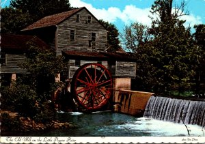 Tennessee The Old Mill At Pigeon Forge On Little Pigeon River 1973