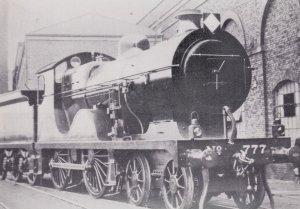 RR Surtees Built L Class Train at Ashford Kent in WW1 Postcard