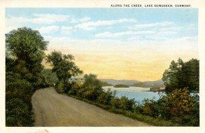 VT - Lake Bomoseen. Drive Along the Creek