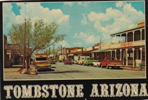Historic Allen Street Tombstone Arizona