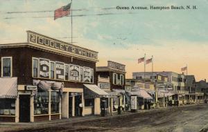 HAMPTON BEACH , New Hampshire, 1912 ; Ocean Avenue
