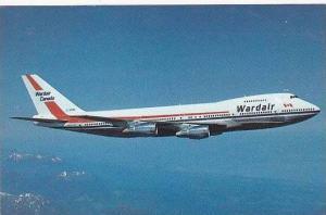 WARD AIR CANADA BOEING 747