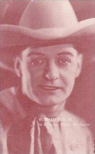 Cowboy Actor Buffalo Bill Jr Vintage Arcade Card