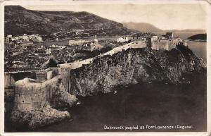 Croatia Dubrovnik pogled sa Fort Lovrenca (Ragusa) 1932