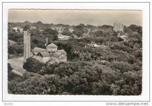 RP  CONAKRY, Gunea, 30-50s  Vue aerienne la Cathedrale