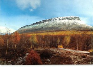 B109506 Lappi Finland Saona The holy fell of the Lapps Landscape