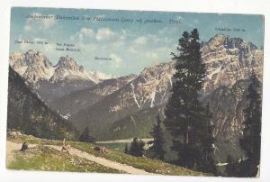 Italy Tyrol Ampezzaner Dolomiten seen from Platzwiesen