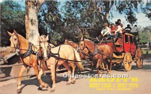 Knott's Berry Farm, Ghost Town Buena Park, California, CA, USA Unused