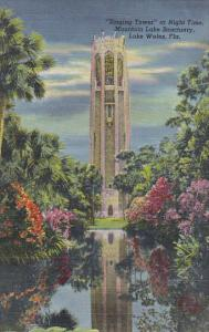 Florida Lake Wales The Singing Tower At Night Curteich