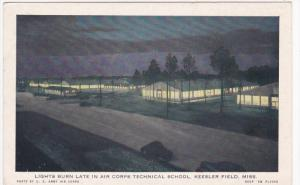 Night , Air Corps Technical School , KESSLER FIELD , Mississippi , 30-40s